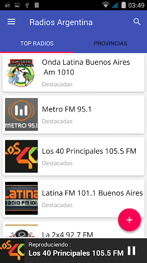Download Radio Argentina Emisoras FM/AM Gratis Online Google Play