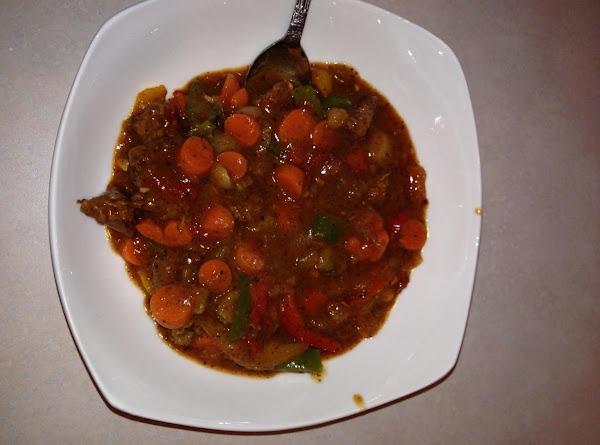 Tex-mex Beef Stew Recipe
