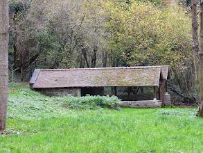 Photo: Un magnifique lavoir à côté du Moulin de Gouline (95)