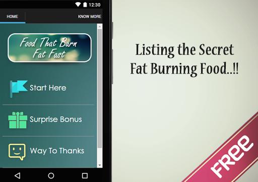 Food That Burn Fat Fast