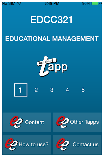 TAPP EDCC321 AFR3