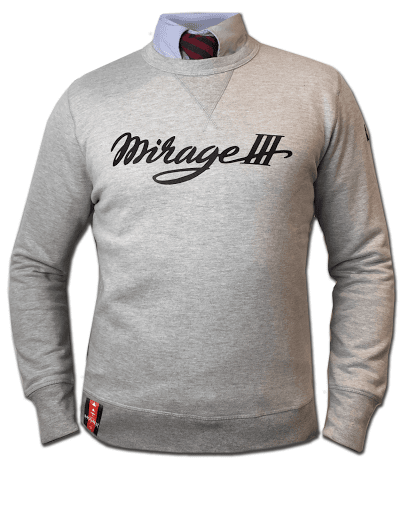 Sweatshirt Mirage3 Dassault Aviation Barnstormer coton
