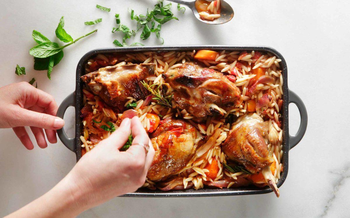 Ein Bild, das Essen, Gericht, Teigwaren enthält.  Automatisch generierte Beschreibung