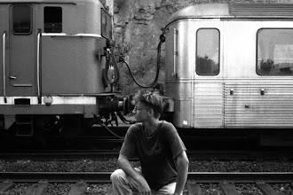 Photo: In 1989 I traveled through Europe for a month with friend by rail. It was one of the best experiences of my life. Photo taken in Italy on a remote train station where we had to wait 1/2 day for the next connection.  For +Blast From The Past curated by +Cheryl Cooper +Mark Rodriguez and +Isabelle Fortin. #blastfromthepast