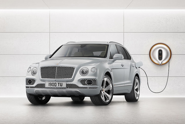 Bentley has revealed a plug-in hybrid version of the Bentayga