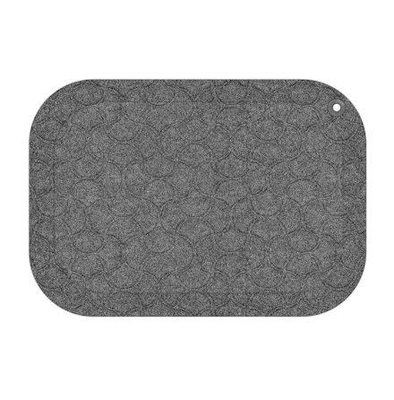 Matta standup 53x77cm grå