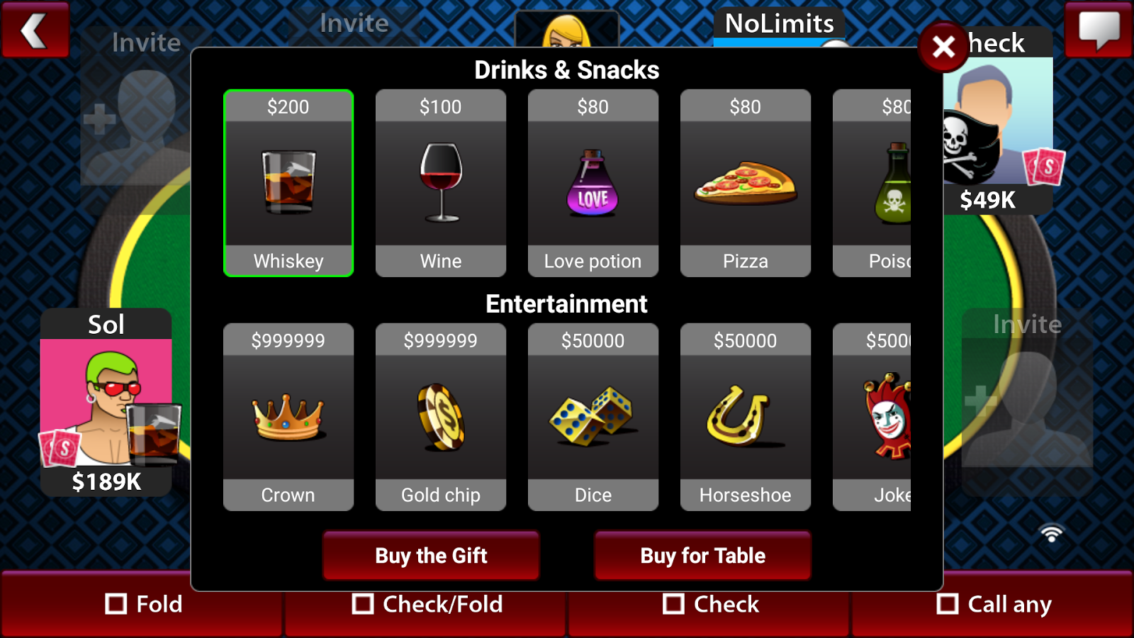 Texas Holdem Poker Online FREE- screenshot