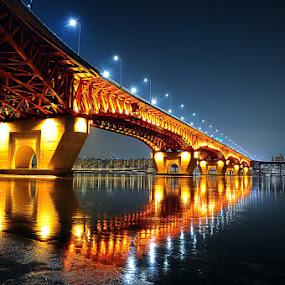 Seongsu Bridge  by Khoirul Huda - Buildings & Architecture Bridges & Suspended Structures