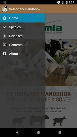 Veterinary Handbook Screenshot
