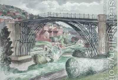 Ironbridge Shropshire 1960 by John Nash - Reproduction Oil Painting
