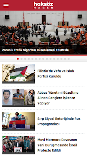 Haksöz Haber- screenshot thumbnail
