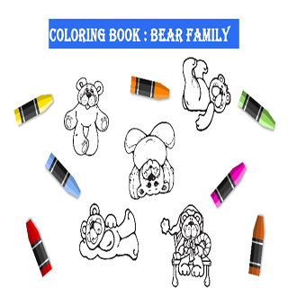 pictures for coloring Bear