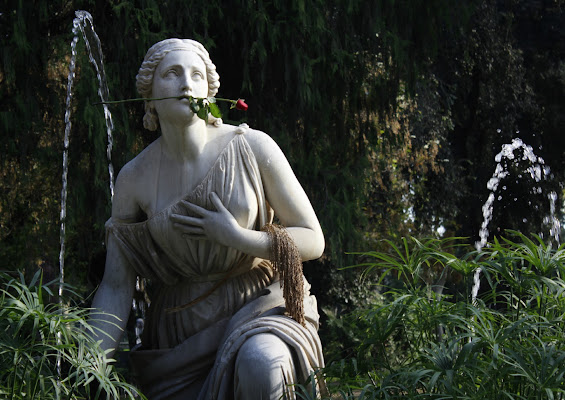 Giardini di Villa Borghese, Roma, ottobre 2018 di FilippoArgentati