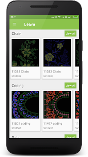 Leave Embroidery Designs- screenshot thumbnail