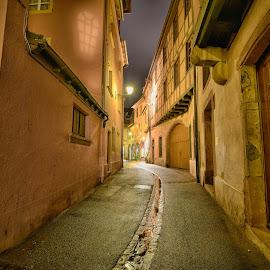 Colmar, The Old City by Marco Bertamé - City,  Street & Park  Neighborhoods