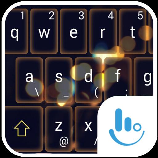 Peaceful Night Keyboard Theme