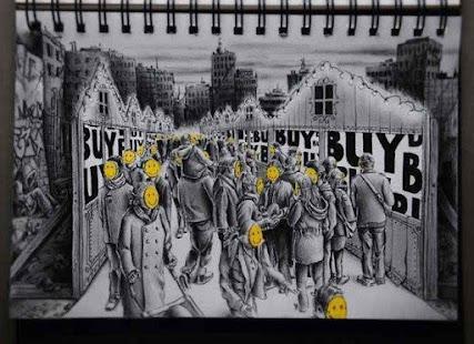 Umělecké kresby nápady - náhled