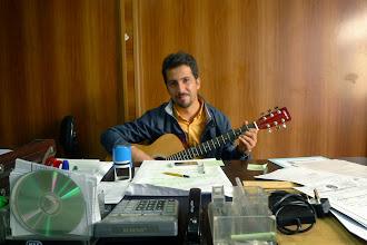 Photo: Music Teacher, Salahaddin University, Erbil, 2015