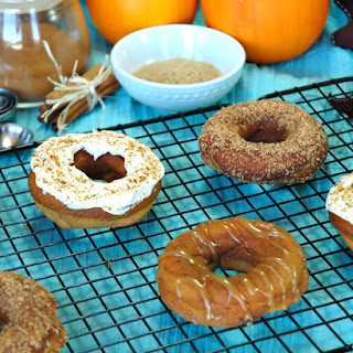 Purely Pumpkin Baked Donuts 3 Ways