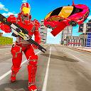Flying Car Robot Transformation Game 1.0.4
