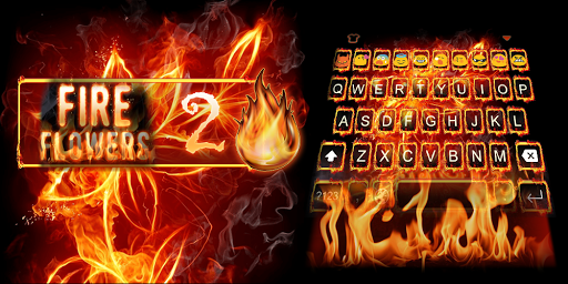 Fire Flower-Emoji Keyboard
