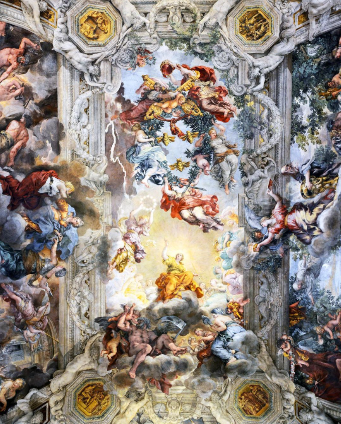 The Divine Providence by Pietro