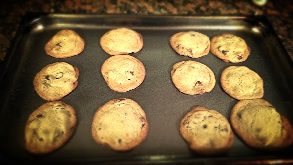 BAKE FOR 11-12 MINUTES, LET COOL SLIGHTLY, AND REMOVE FROM PAN, LET COOL COMPLETELY...