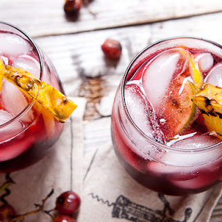 Grilled Fruit Sangria