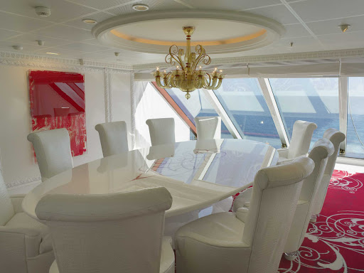 Host a private party for up to 10  guests in Oceania Cruises' exclusive onboard dining venue, Privée.