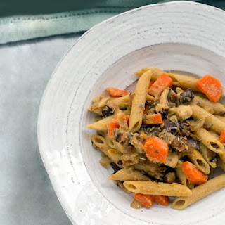 Herbs De Provence Garlic-Shiitake-Lemon Pasta Recipe