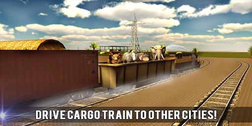 玩免費模擬APP|下載野生動物輸送列車の3D app不用錢|硬是要APP