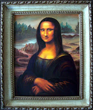Photo: Mona Lisa by Jane. Oil on Canvas 16 x 20 $1500.