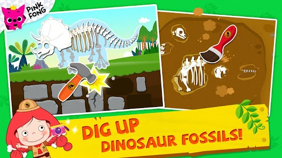 PINKFONG Dino World- screenshot thumbnail