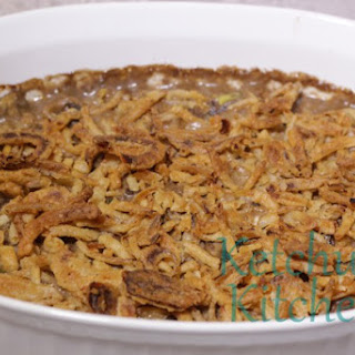 Ground Beef Casserole w/ French Fried Onions