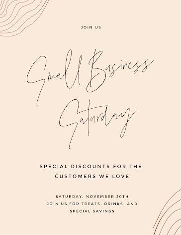 Small Business Discounts - Flyer Template