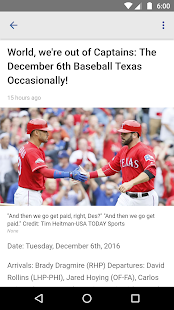 Baseball Texas - Rangers News- screenshot thumbnail