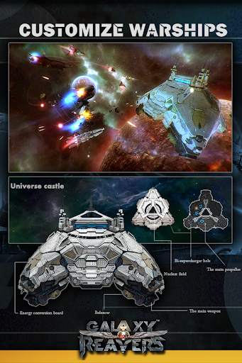 Galaxy Reavers - Starships RTS 1.2.19 Screenshots 3