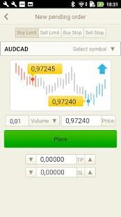 Prive Trader Mobile - náhled