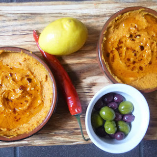 Roasted and Spiced Sweet Potato Dip.