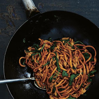 Shanghai Stir-Fried Chunky Noodles