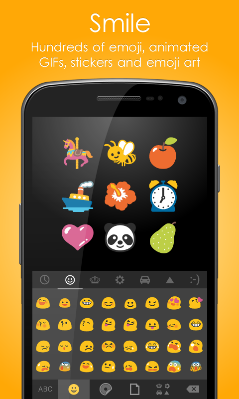 Ginger Keyboard-Emoji Keyboard - screenshot