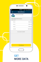 Screenshot of MyDigi - OCS Self Service