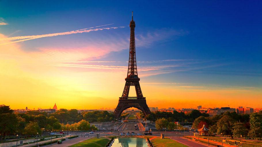романтический отдых в Париже