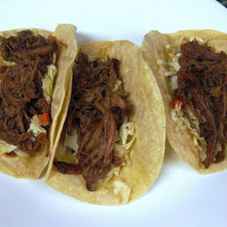Shredded Korean Beef Tacos