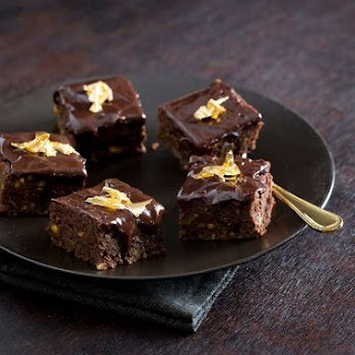 Chocolate & Pistachio Brownies.