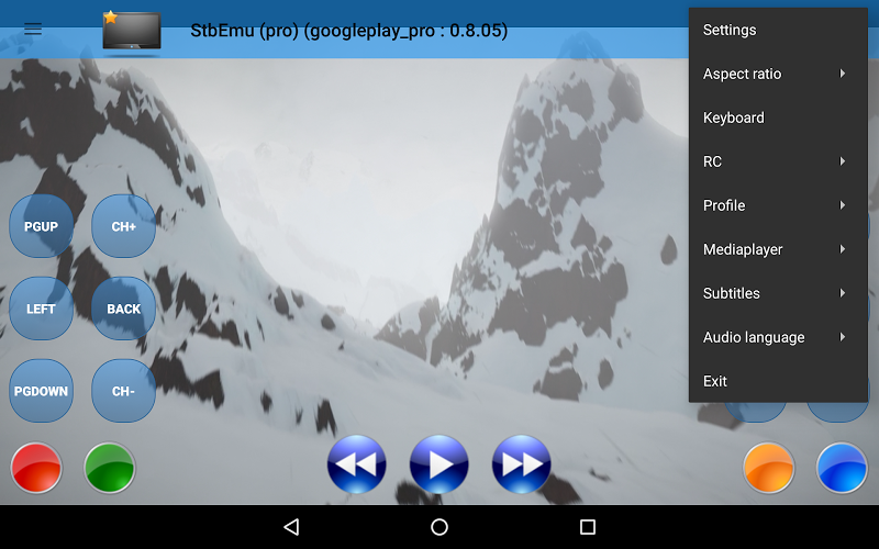 StbEmu (Pro) Screenshot 6