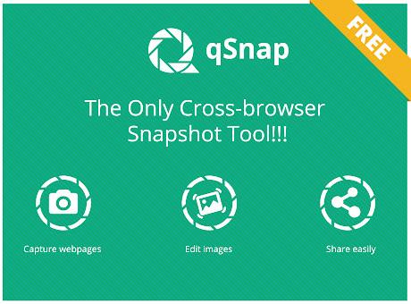 qSnap: Screen Capture, Screenshot, Annotation
