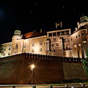 Cracov by Marta Bednarska - Buildings & Architecture Public & Historical ( night castle kraków )