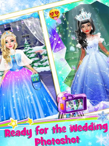 Ice Princess Wedding Dress Up Stylist screenshot 3