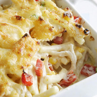 Baked Chicken Macaroni & Cheese